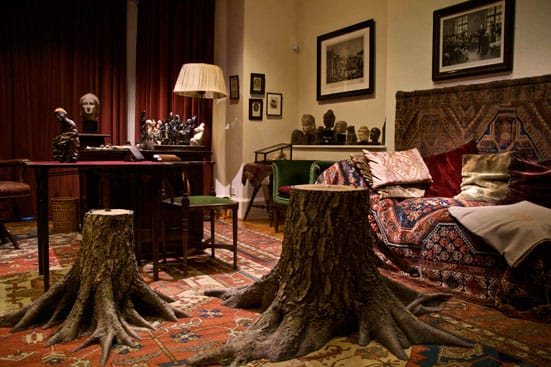 Matt Collishaw - Hysteria — Matt Collishaw Hysteria at the Freud Museum, image courtesy Phil Harris