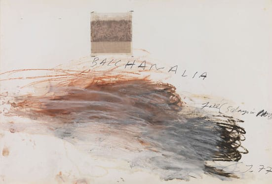 Twombly and Poussin: Arcadian Painters — 
