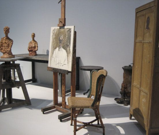 L'Atelier d'Alberto Giacometti at the Pompidou Centre Photograph: J. Scutts