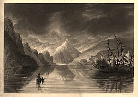 Lake of Lucerne - London: John Dennis, 1820. Aquatint in sepia ink. Engraved by Thomas Luptonhttp://www.art-books.com/artbooks/images/items/59-0308.jpg